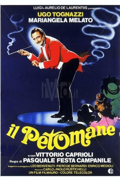 Caratula, cartel, poster o portada de Il petomane