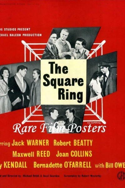 Caratula, cartel, poster o portada de The Square Ring