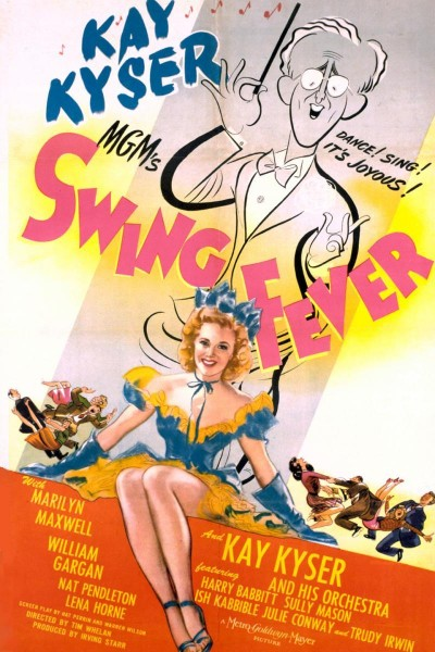 Caratula, cartel, poster o portada de Swing Fever