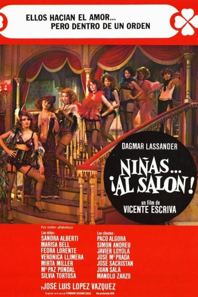 Caratula, cartel, poster o portada de Niñas... al salón