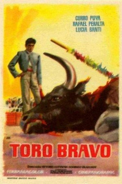 Caratula, cartel, poster o portada de Toro bravo