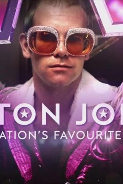 Caratula, cartel, poster o portada de Elton John. La canción favorita de una nación