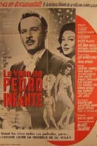 Caratula, cartel, poster o portada de La vida de Pedro Infante