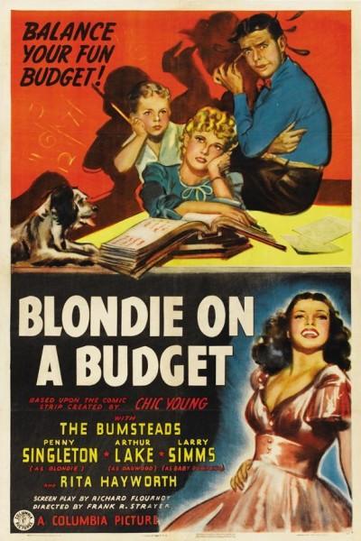 Caratula, cartel, poster o portada de Blondie on a Budget