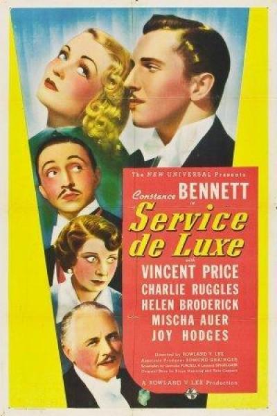 Caratula, cartel, poster o portada de Servicio de lujo