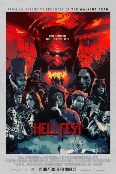 Caratula, cartel, poster o portada de Hell Fest