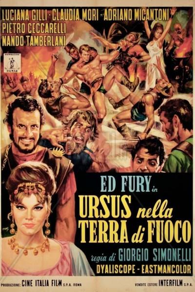 Caratula, cartel, poster o portada de Ursus en la tierra del fuego
