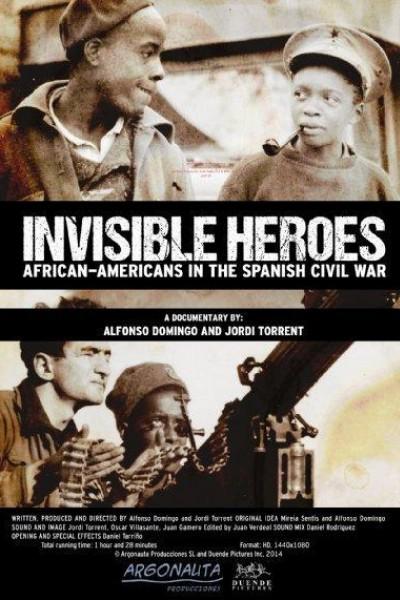 Caratula, cartel, poster o portada de Héroes invisibles. Afroamericanos en la guerra de España