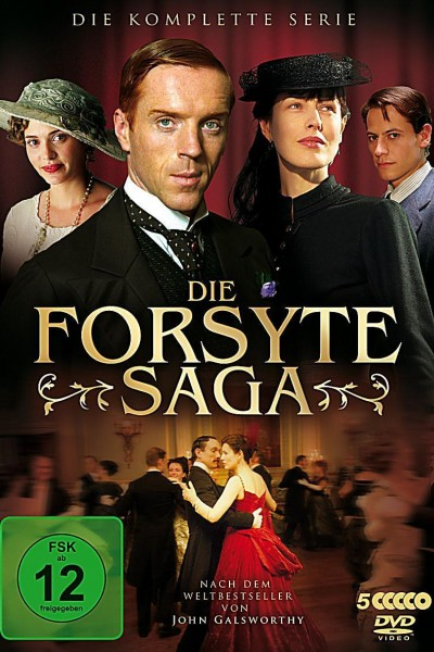 Caratula, cartel, poster o portada de La saga de los Forsyte