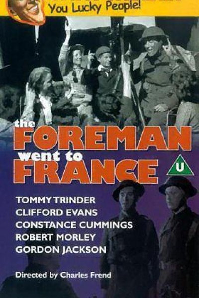 Caratula, cartel, poster o portada de The Foreman Went to France