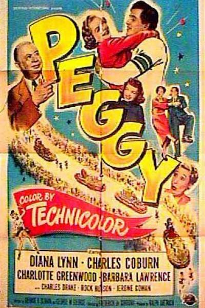 Caratula, cartel, poster o portada de Peggy