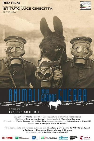 Caratula, cartel, poster o portada de Los animales en la Gran Guerra