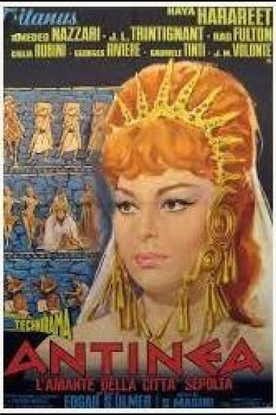 Caratula, cartel, poster o portada de Antinea, l\'amante della città sepolta