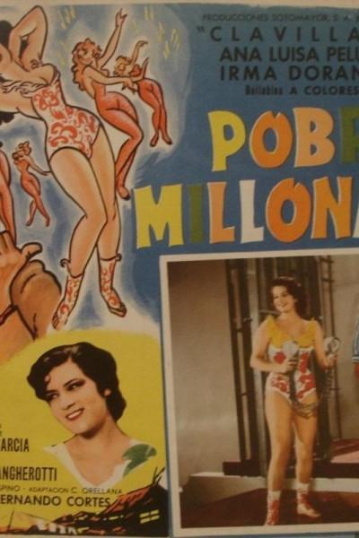 Caratula, cartel, poster o portada de Pobres millonarios
