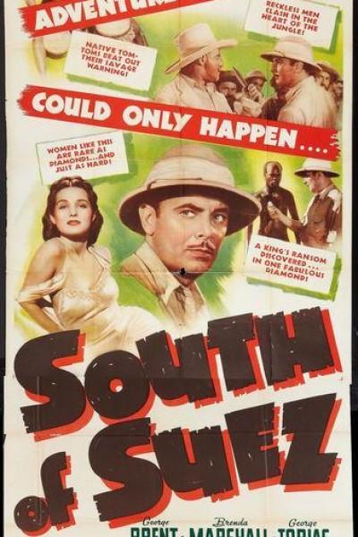 Caratula, cartel, poster o portada de South of Suez