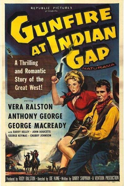 Caratula, cartel, poster o portada de Gunfire at Indian Gap