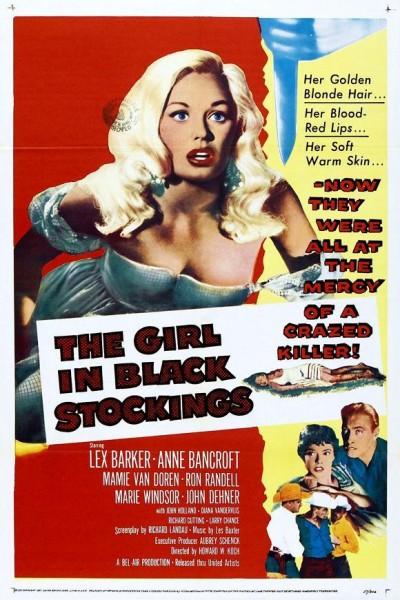 Caratula, cartel, poster o portada de The Girl in Black Stockings
