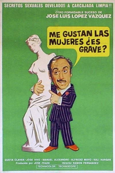 Caratula, cartel, poster o portada de Doctor, me gustan las mujeres, ¿es grave?