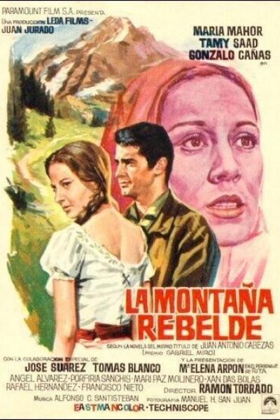 Caratula, cartel, poster o portada de La montaña rebelde