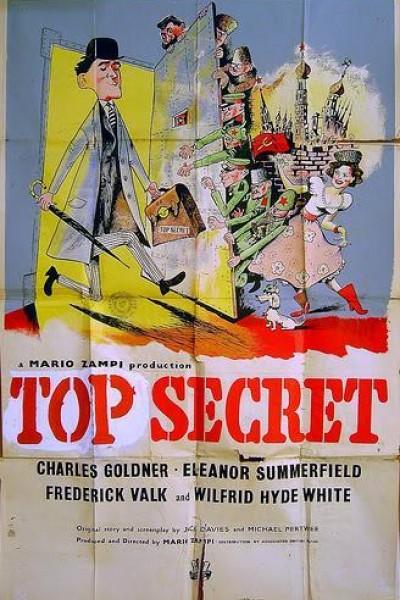 Caratula, cartel, poster o portada de Alto secreto