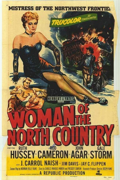 Caratula, cartel, poster o portada de Woman of the North Country
