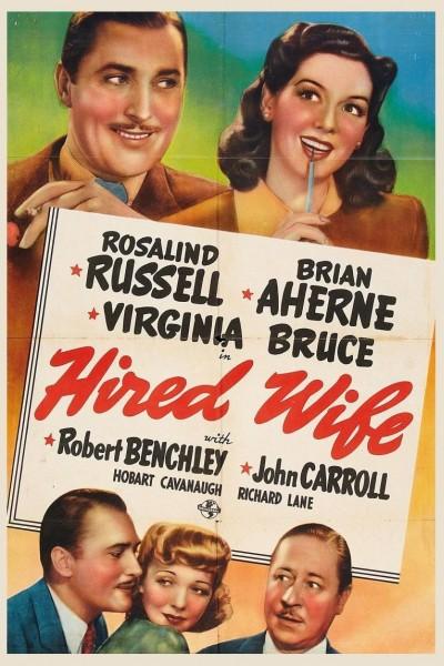 Caratula, cartel, poster o portada de Hired Wife