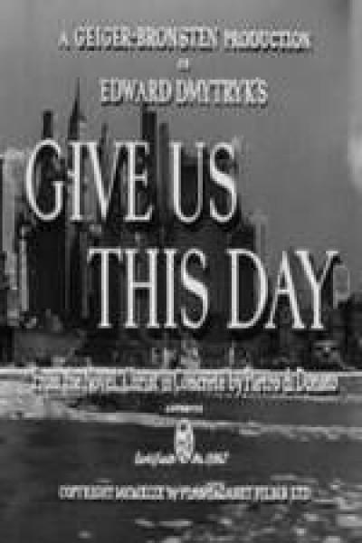 Caratula, cartel, poster o portada de Give Us This Day