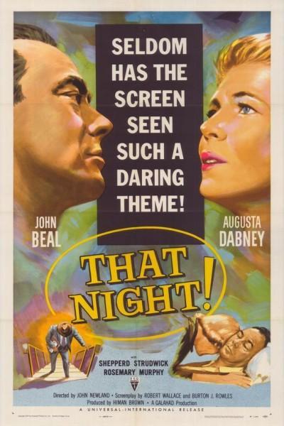 Caratula, cartel, poster o portada de That Night!