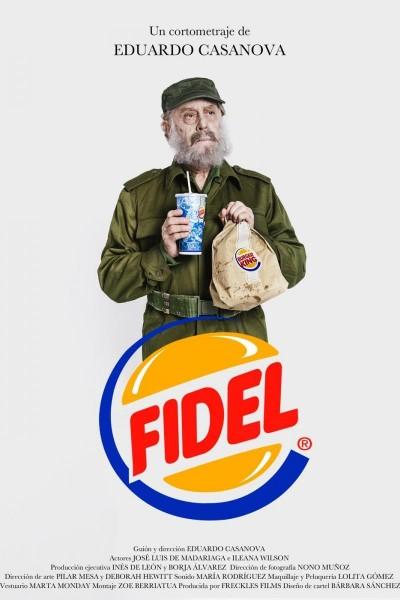 Caratula, cartel, poster o portada de Fidel