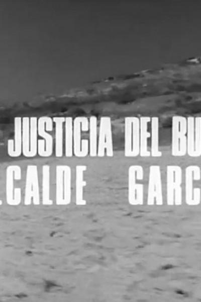 Caratula, cartel, poster o portada de La justicia del buen alcalde García