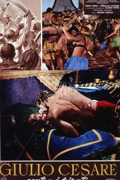 Caratula, cartel, poster o portada de Julio César contra los piratas