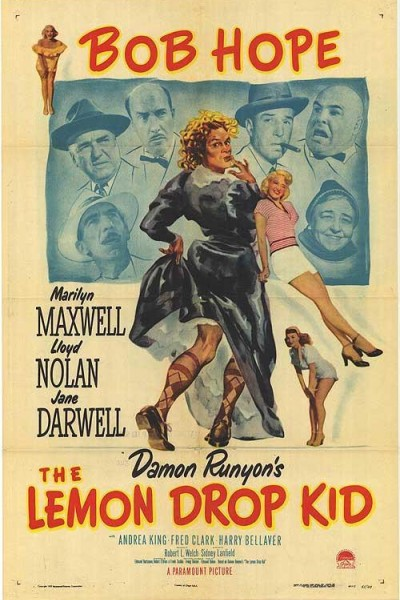 Caratula, cartel, poster o portada de The Lemon Drop Kid