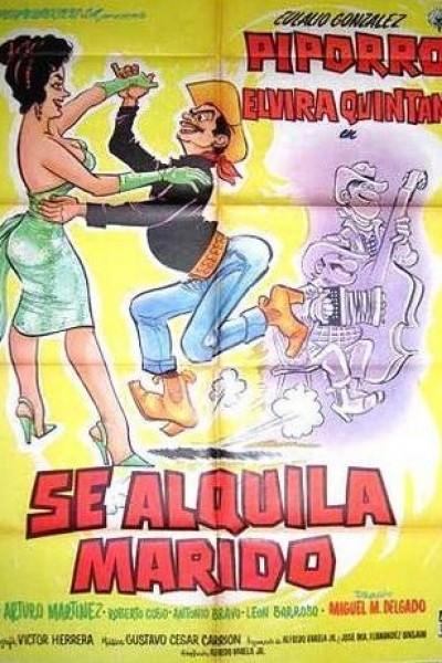 Caratula, cartel, poster o portada de Se alquila marido