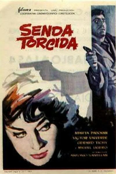 Caratula, cartel, poster o portada de Senda torcida