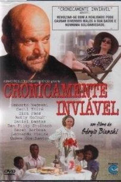 Caratula, cartel, poster o portada de Cronicamente Inviável