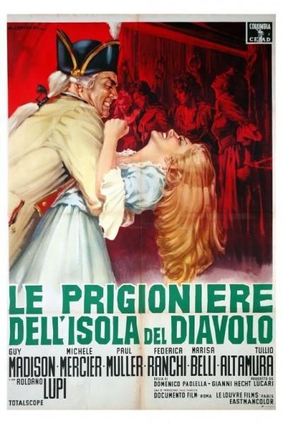 Caratula, cartel, poster o portada de Atrapadas en la isla del Diablo