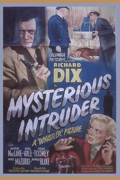 Caratula, cartel, poster o portada de Mysterious Intruder