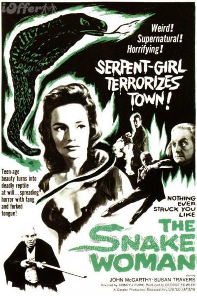Caratula, cartel, poster o portada de The Snake Woman