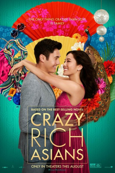 Caratula, cartel, poster o portada de Crazy Rich Asians (Locamente millonarios)