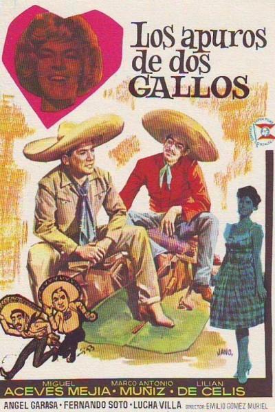 Caratula, cartel, poster o portada de Los apuros de dos gallos