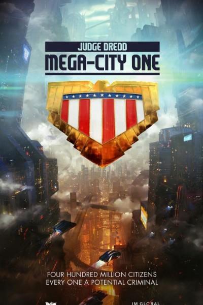 Caratula, cartel, poster o portada de Judge Dredd: Mega City One