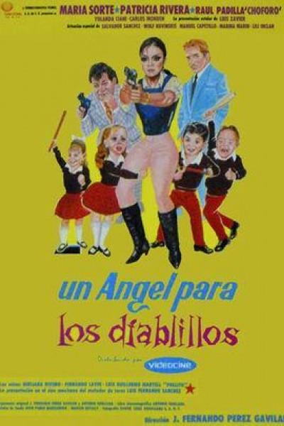 Caratula, cartel, poster o portada de Un ángel para los diablillos