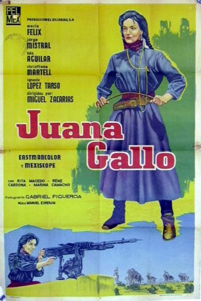 Caratula, cartel, poster o portada de Juana Gallo
