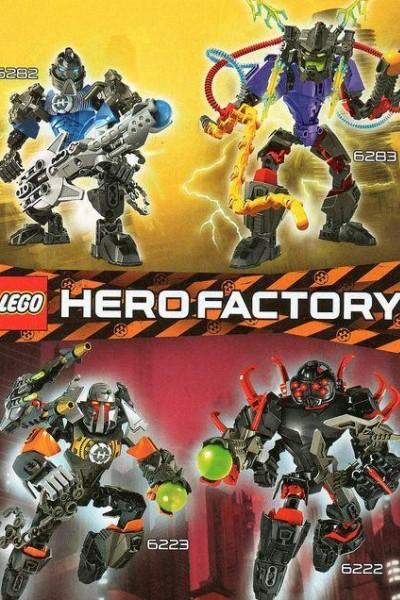 Caratula, cartel, poster o portada de Hero Factory