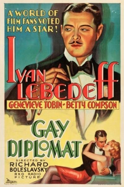 Caratula, cartel, poster o portada de The Gay Diplomat