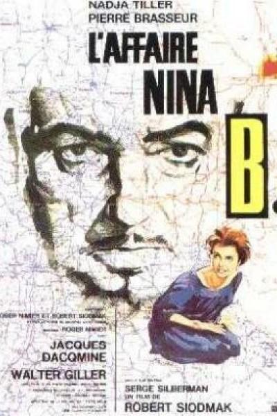Caratula, cartel, poster o portada de L\'affaire Nina B.
