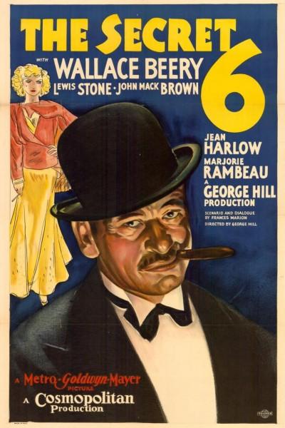 Caratula, cartel, poster o portada de Los seis misteriosos