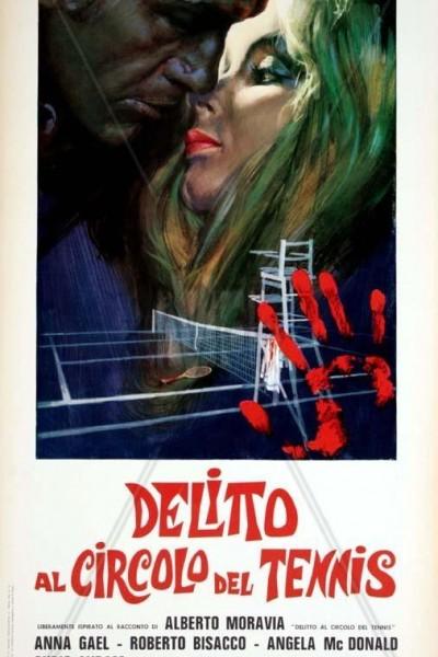 Caratula, cartel, poster o portada de Crimen en el club de tenis