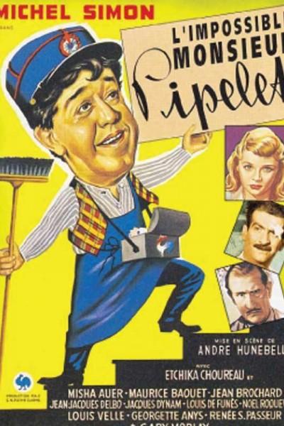 Caratula, cartel, poster o portada de El portero, su hija y don Basilio
