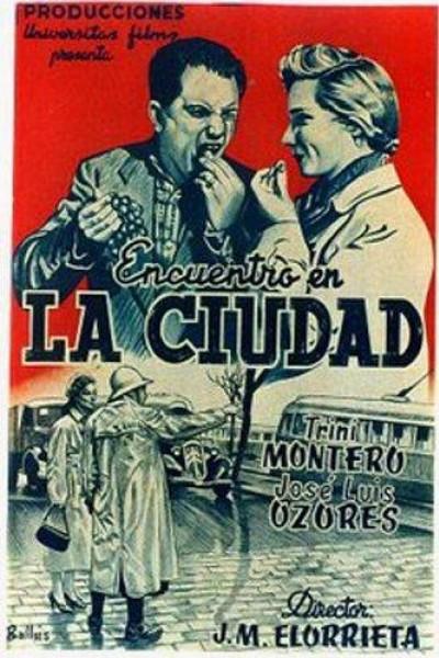 Caratula, cartel, poster o portada de Encuentro en la ciudad